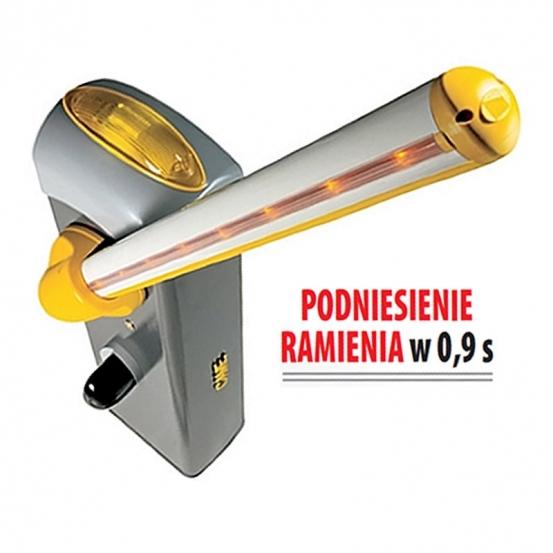 Szlaban CAME GARD-3 Ramię Tubowe 3m - wersja Lewa
